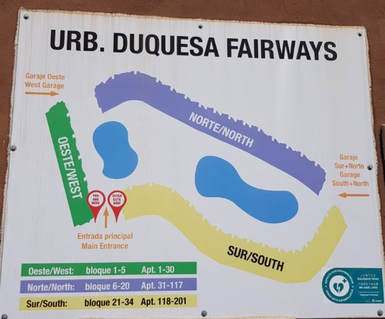 Plan of Duquesa Fairways