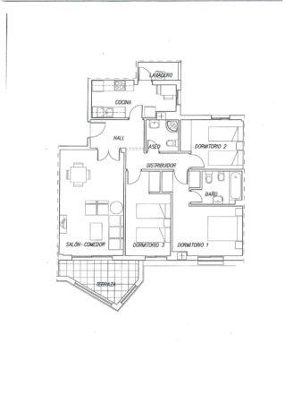 La Noria IV 3 Bed Floor plan