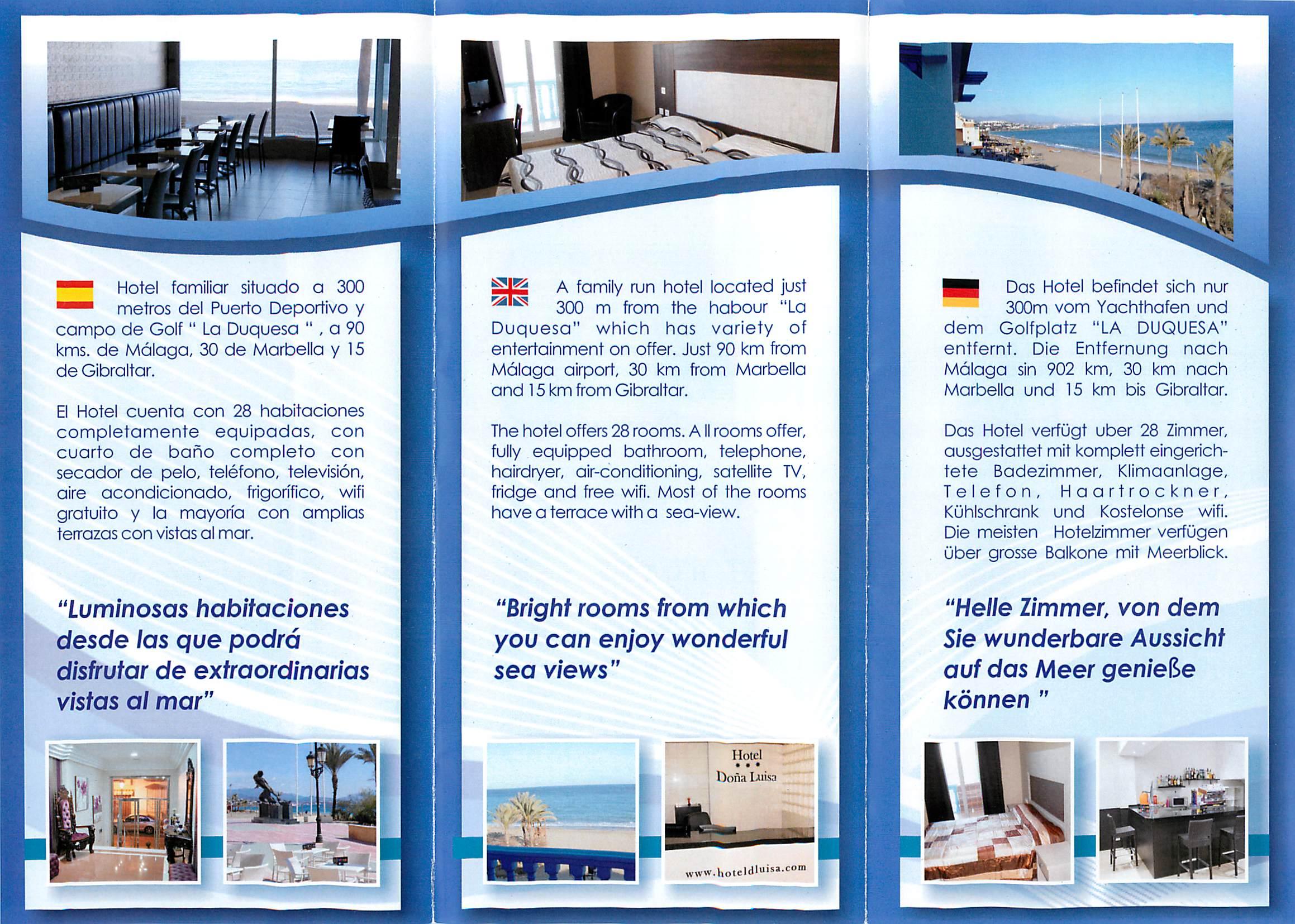 Newly Refurbished Hotel Doña Luisa In Sabinillas Blog
