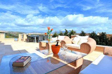 Stunning terrace in La Vizcaronda