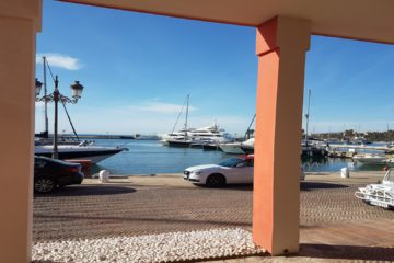 View out to the Sotogrande Marina