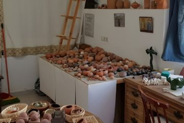 Pottery in Typical Manilva Village House