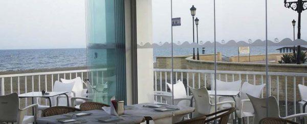 Coffee with a view at El Paseo Sabinillas