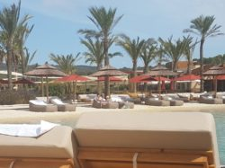 La Reserva Beach Club. Picture of the artificial beach in La Reserva Resort, Sotogrande