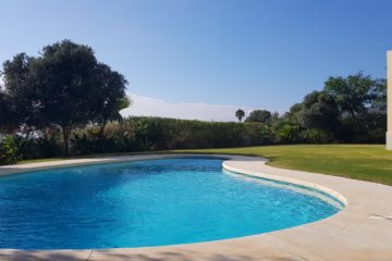 Photo of the private pool, garden a
