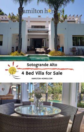 4 bed villa for sale in Sotogrande Alto