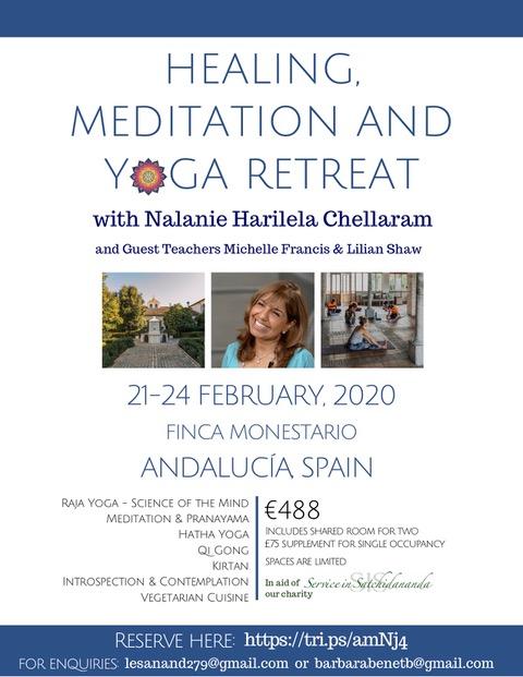 Yoga Retreat Poster