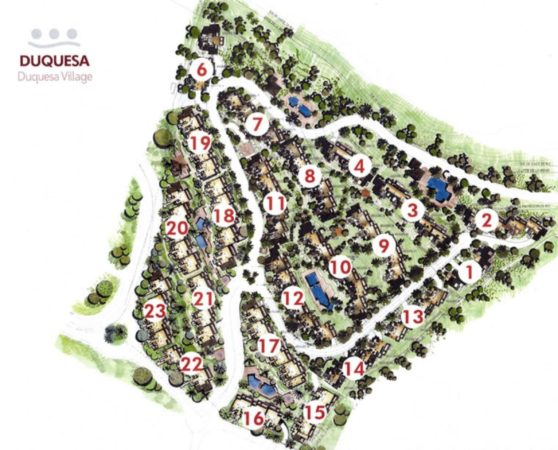 Duquesa Village Urbanisation Map