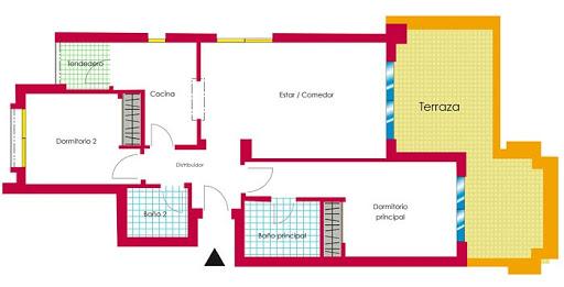 Duquesa Village 2 bed apartment plan