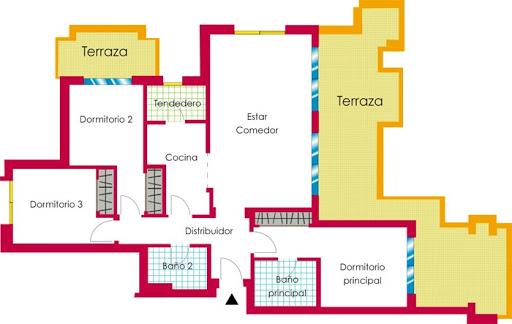 Duquesa Village 3 bed apartment plan