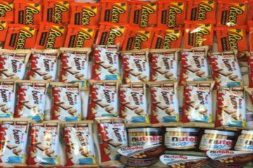 Lot sof chocolate
