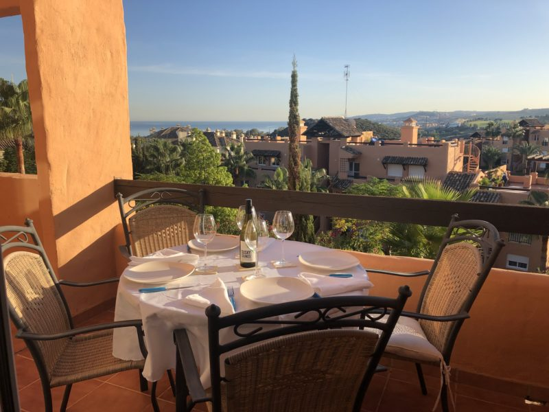 A beautiful view from your terrace