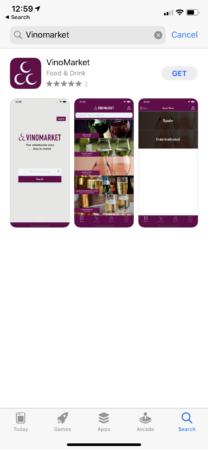 App Vinomarket