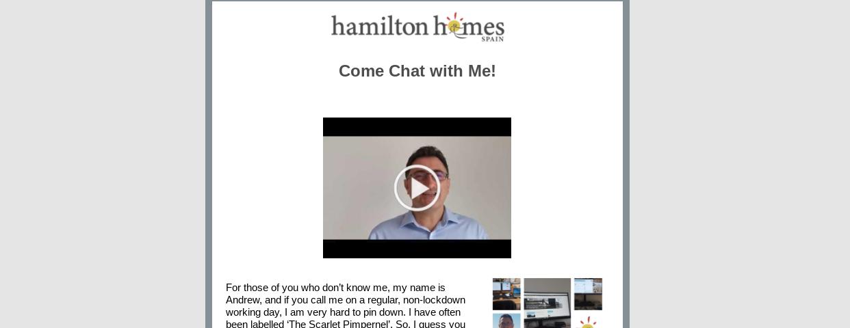 Hamilton Newsletter