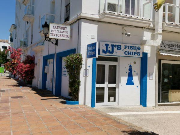 JJ's Fisha nd Chips, Duquesa Port