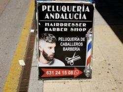 Peluqueria Andalucia Barber shop
