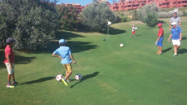 Foot Golf at Casares Golf
