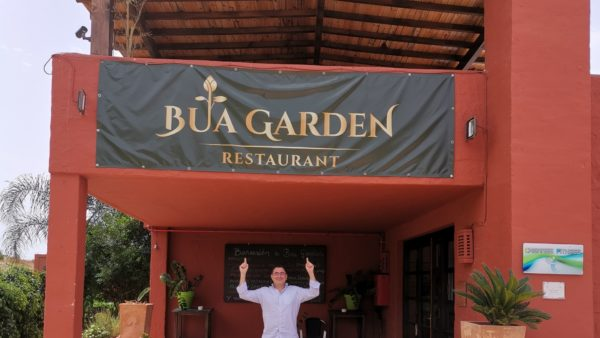 Bua Garden Casares ventas restaurants Spanich cuisine traditional selfie Thai food