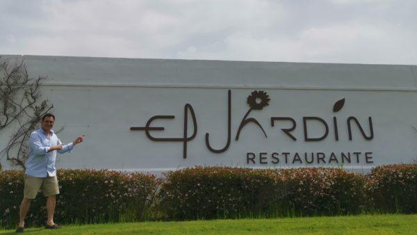 El Jardin luxury Casares ventas restaurants Spanich cuisine traditional selfie