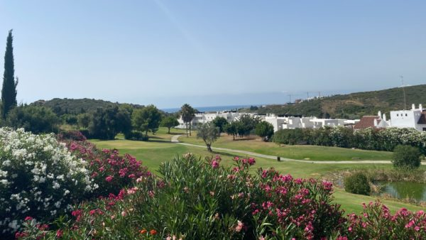 Casares Costa golf course resort golfing greens tee