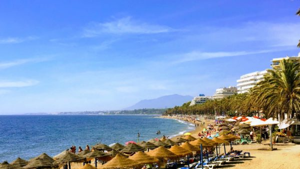 Costa del Sol South of Spain sun tourism beach tourist holiday