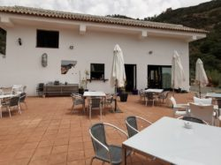 Spacious terrace Casares ventas restaurants Spanish cuisine traditional