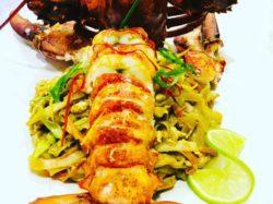 Pad Thai lobster - restaurant Bua Garden Casares