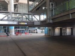 Malaga airport, COVID-19 travel, Malaga airport during lockdown, travelling during a pandemic