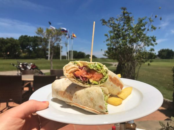 Delicious Lunch at San Roque Golf Club