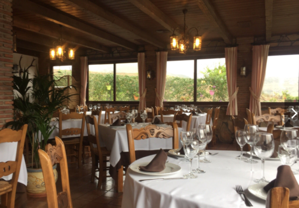 Inside Dining Hall, Venta Cozar