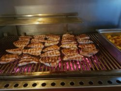 Meat on the grill, Venta Cozar