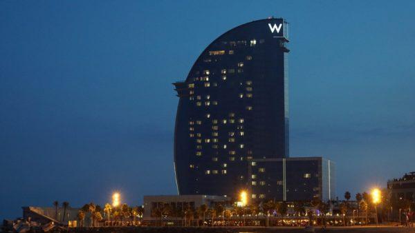 W hotel Barcelona luxury resorts hotels Platinum estates