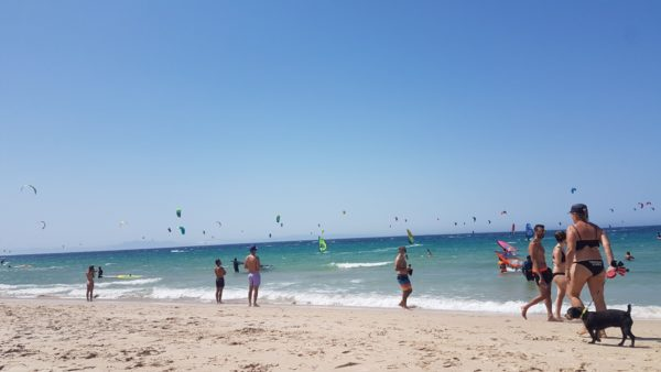 Kite Surfing in Tumbao