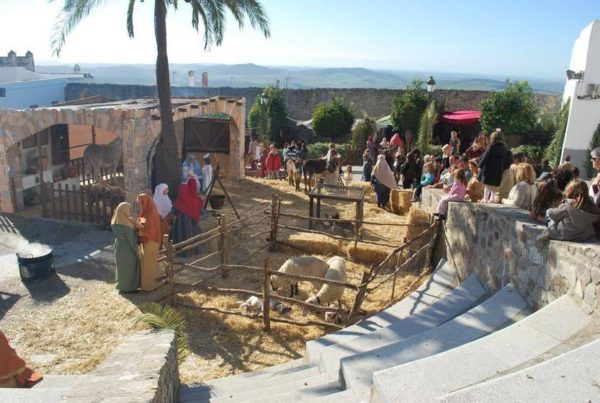 Live Bethlehem in Medina Sidonia - a Christmas tradition in Spanish villages