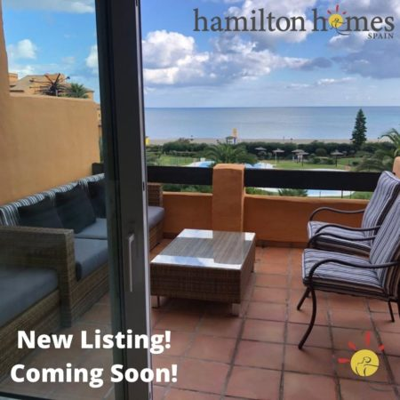 Just Listed! Selling a property through Hamilton Homes spain